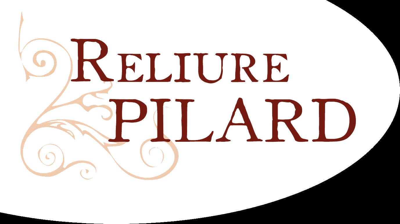 Reliure Pilard